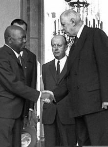 De Gaulle Foccart e Bongo