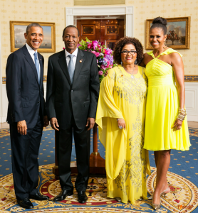 Obana e Blaise Campaore