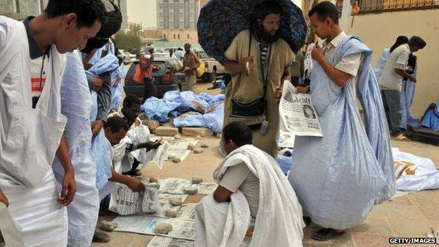 mauritania market