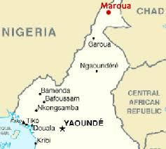 Mappa con Maroua