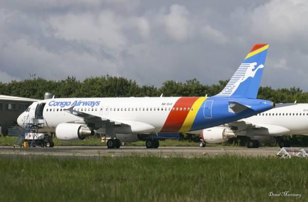 Congo Airways A320-200 a Dublino