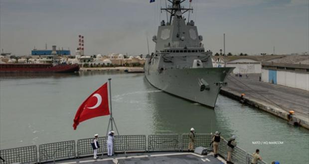 turkISH WARSHIP
