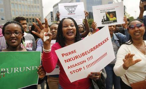 demo contro Nkurunziza