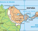 Mappa  Ceuta