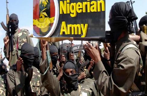 Altra bandiera Nigeria Army