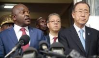 Ban Ki Moon e Pierre Nkurunziza