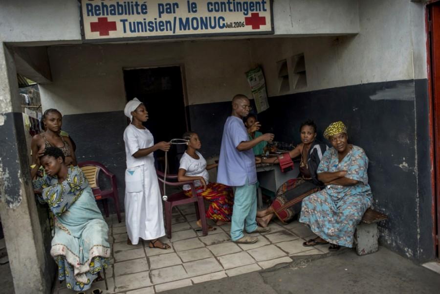 The local health centre (Eloisa D'Orsi/EJC/IRIN)