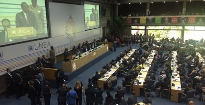 Kenyatta inaugura  la conferenza UNEA