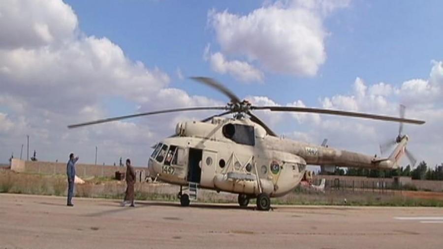 Un elicottero di fabbricazione russa uguale a quello abbattuto