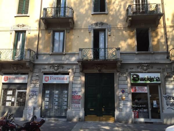 La sede della Vigilar in viale Premuda a Milano