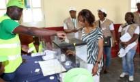 Un seggio elettorale (foto ENCA)