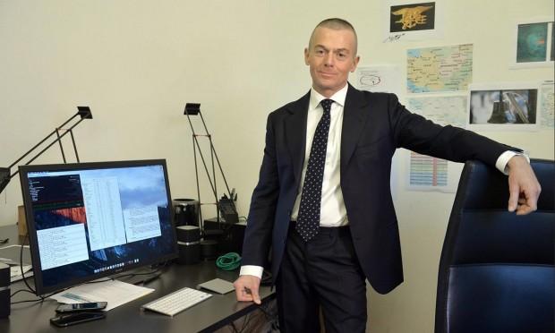 David Vincenzetti, fondatore e amministratore delegato della Hacking Team