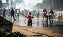 manifestazione a Libreville 31.08.2016