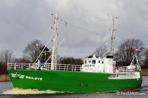La nave tedesca Sea Eye