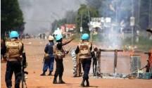 """Bangui, Repubblica centrafricana sit-in """"città morta"""" 24.10.2016"""