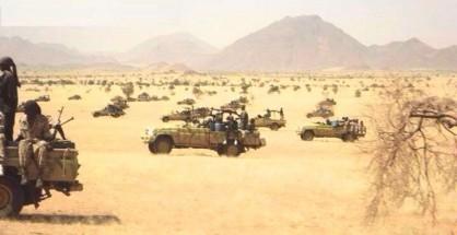 Gli ex janjaweed hanno abbandonato i cavalli e i cammelli e ora si muovono con i fuoristrada