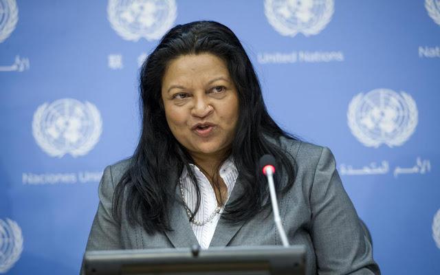 Sheila B. Keetharuth, commissione d'inchiesta dell'ONU sui diritti umani in Eritrea