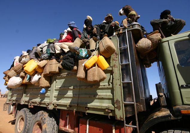 migranti in partenza dal Niger