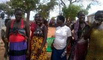 South Sudanese homless, pregnant women in Uganda