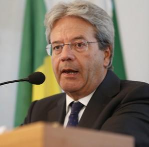 Paolo Gentiloni, ministro degli esteri