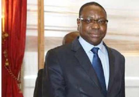 Ministro degli affari esteri senegalese Mankeur Ndiaye.