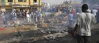 Mercato di Magadali in Nigeria