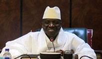 Yahya Jemmeh, presidente del Gambia