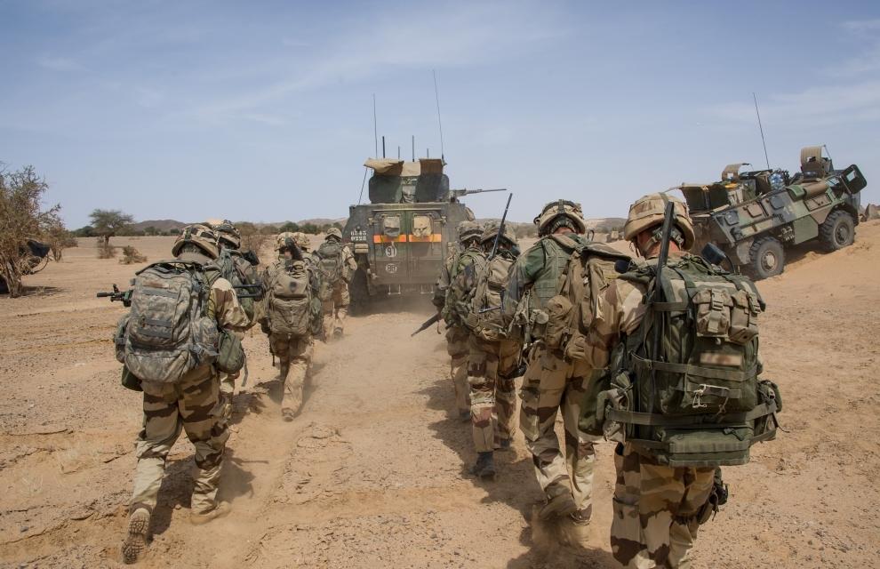 """Truppe francesi in Mali """"Operazione Barkhane"""" a Gao"""