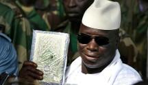 Il presidente del Gambia, Yahya Jammeh