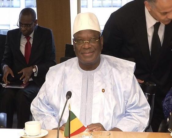 Il presidente del Mali Ibrahim Boubacar Keïta