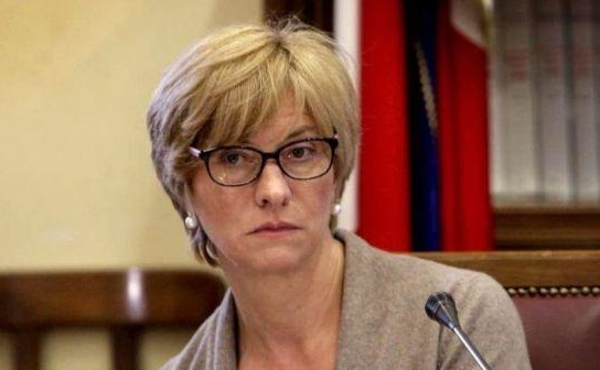 Il ministro alla Difesa italiano Roberta Pinotti.