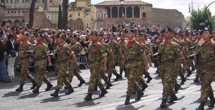 La Brigata Sassari durante la sfilata del 2 giugno 2007