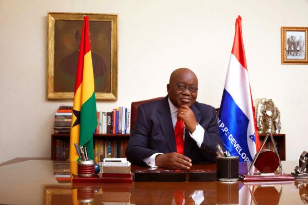Il presidente del Ghana, Nana Addo-Akufo