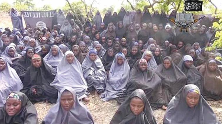 alcune delle studentesse rapite a Chibok, Nigeria