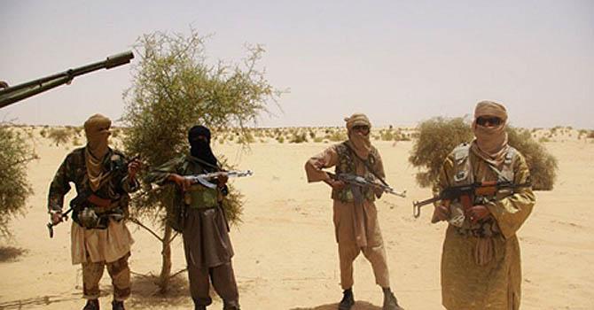 Miliziani jihadisti in Mali