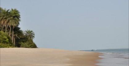Spiaggia sulle isole Bijagos, Guinea Bissau