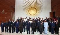 """""""Ritratto di famiglia"""" - i partecipanti al 29° summit dell'Unione Africana"""