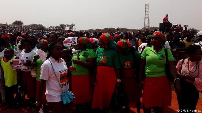 Angola, inizio della campagna elettorale