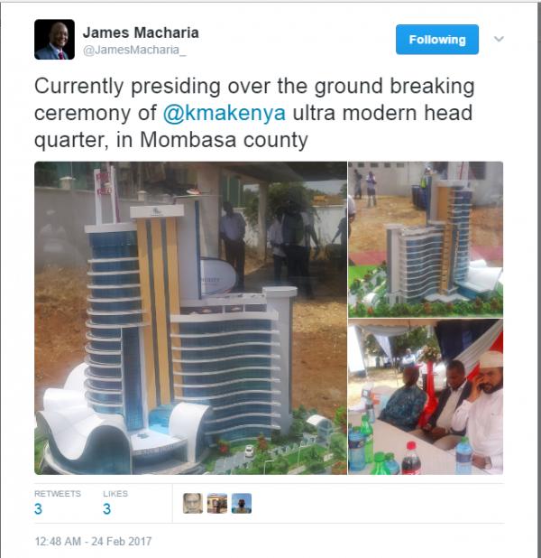 Grattacieli a Mombasa