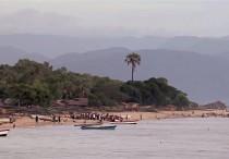 Costa del lago Nyassa