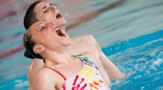 """Manila Flamini e Giorgio Minisini, medaglia d'oro Duo misto nel sincro"""" ai mondiali di Budapest"""