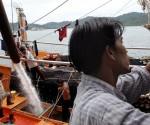 Peschereccio illegale nell'Oceano indiano
