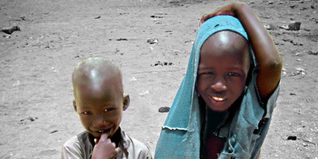 bambini nel Sahel