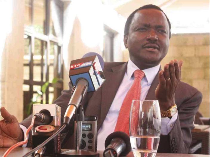 Il candidato alla vicepresidente Kalonzo Musioka