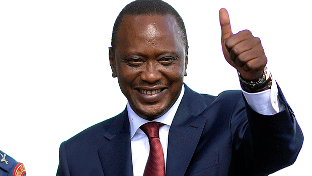 Uhuru Kenyatta, presidente del Kenya
