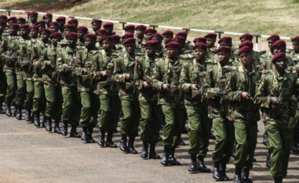 Il corpo paramilitare del GSU (General Service Unit) che sarà utilizzato insieme alle forze di polizia per prevenire eventuali disordini