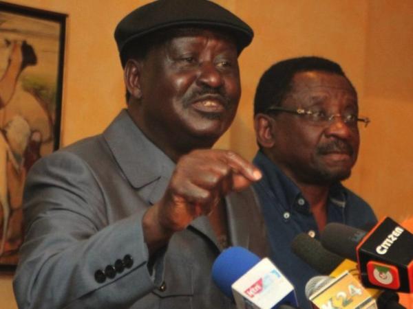 Raila Odinga e James Orengo