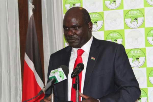 Il presidente della commissione elettorale indipendente, Wafula Chebukati