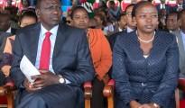 William Ruto, vicepresidente del Kenya con la moglie Rachel