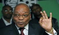 Jacob Zuma, presidente del Sudafrica